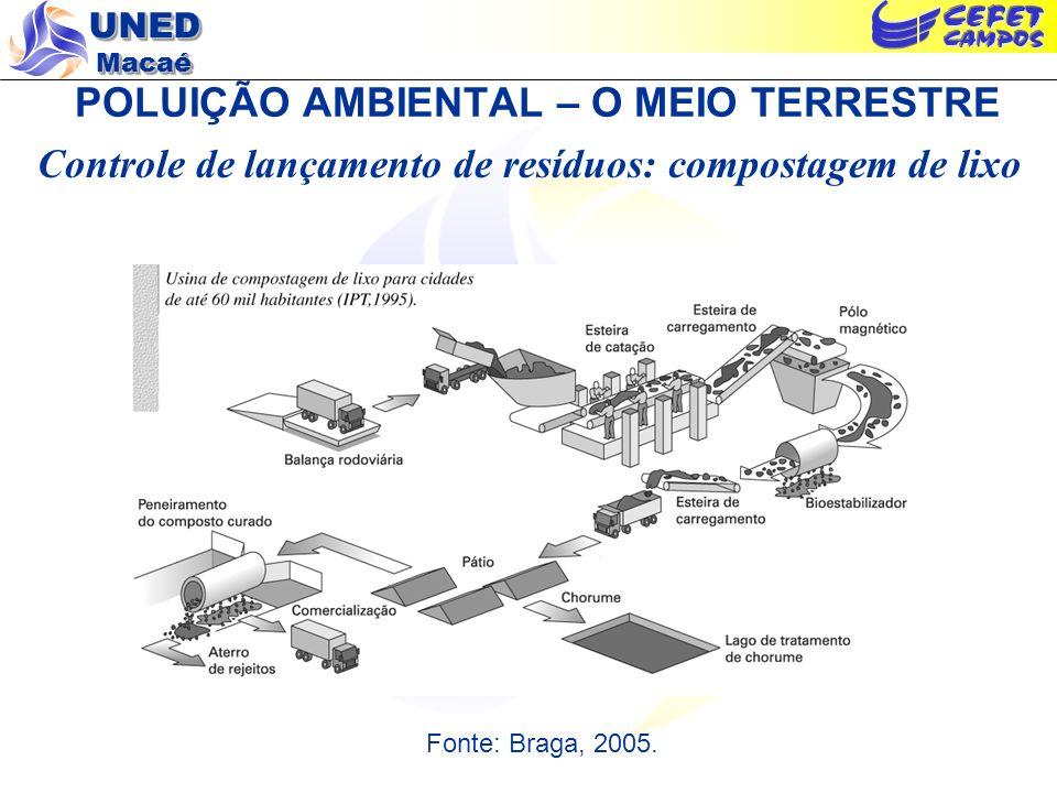 POLUIÇÃO AMBIENTAL – O MEIO TERRESTRE