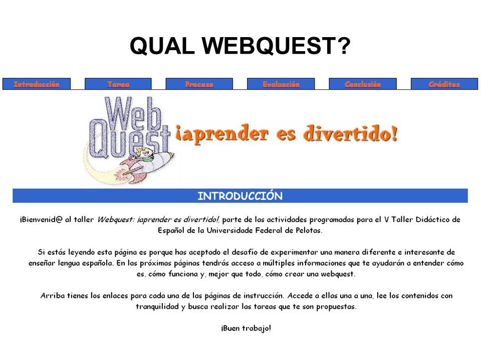 QUAL WEBQUEST