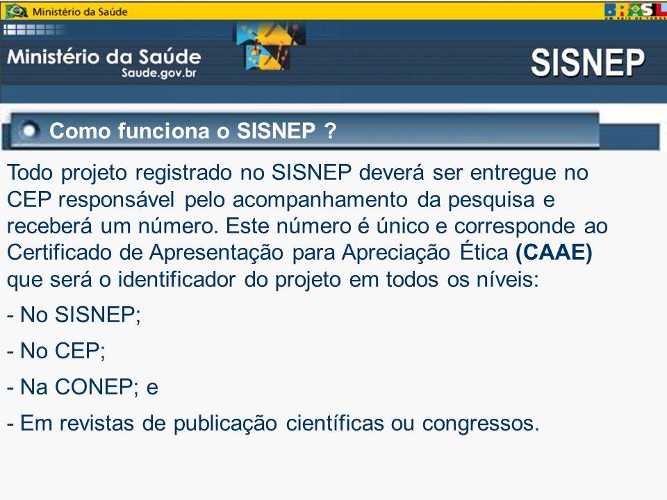 Como funciona o SISNEP