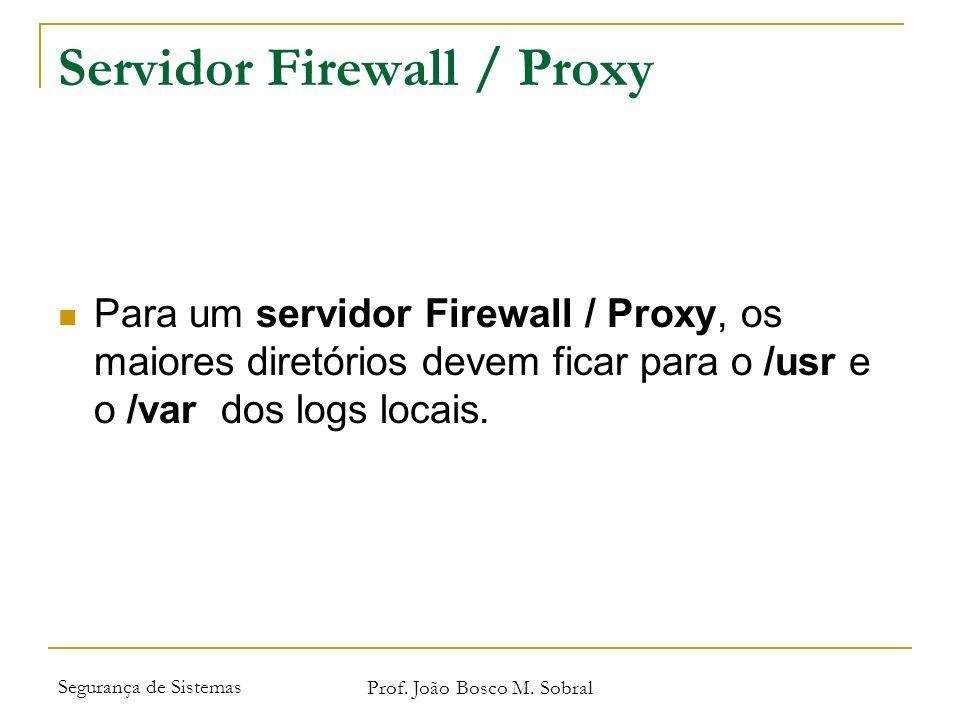 Servidor Firewall / Proxy