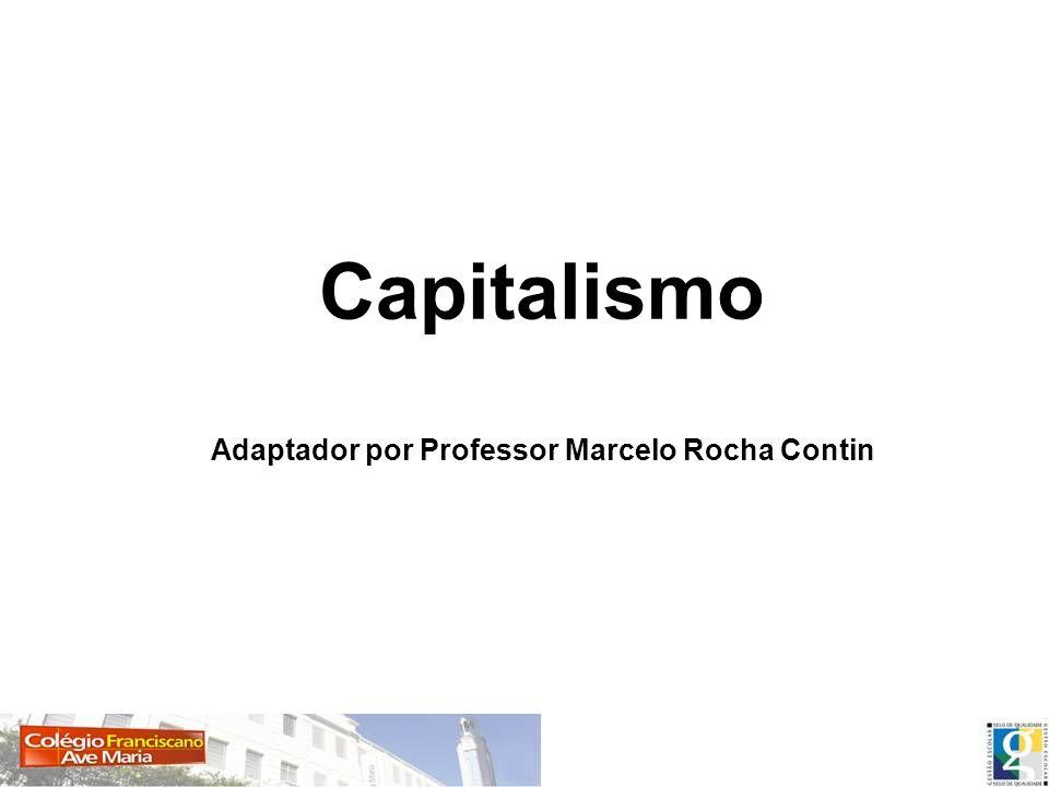 Capitalismo Adaptador por Professor Marcelo Rocha Contin