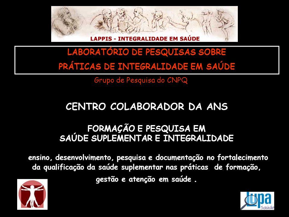 CENTRO COLABORADOR DA ANS