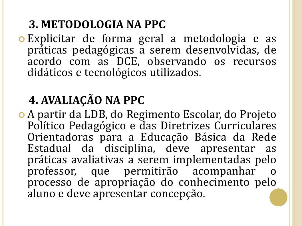 3. METODOLOGIA NA PPC