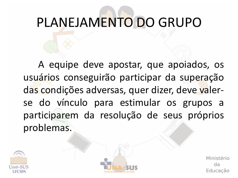 PLANEJAMENTO DO GRUPO