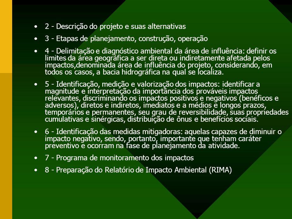 2 - Descrição do projeto e suas alternativas