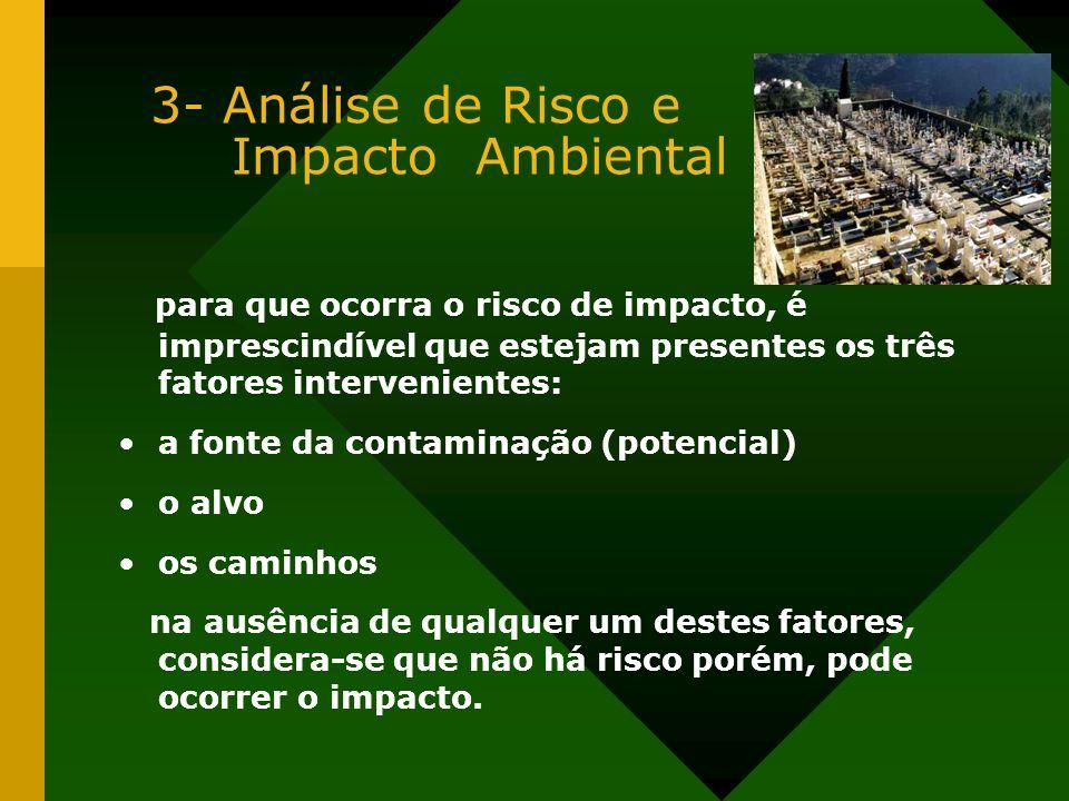 3- Análise de Risco e Impacto Ambiental