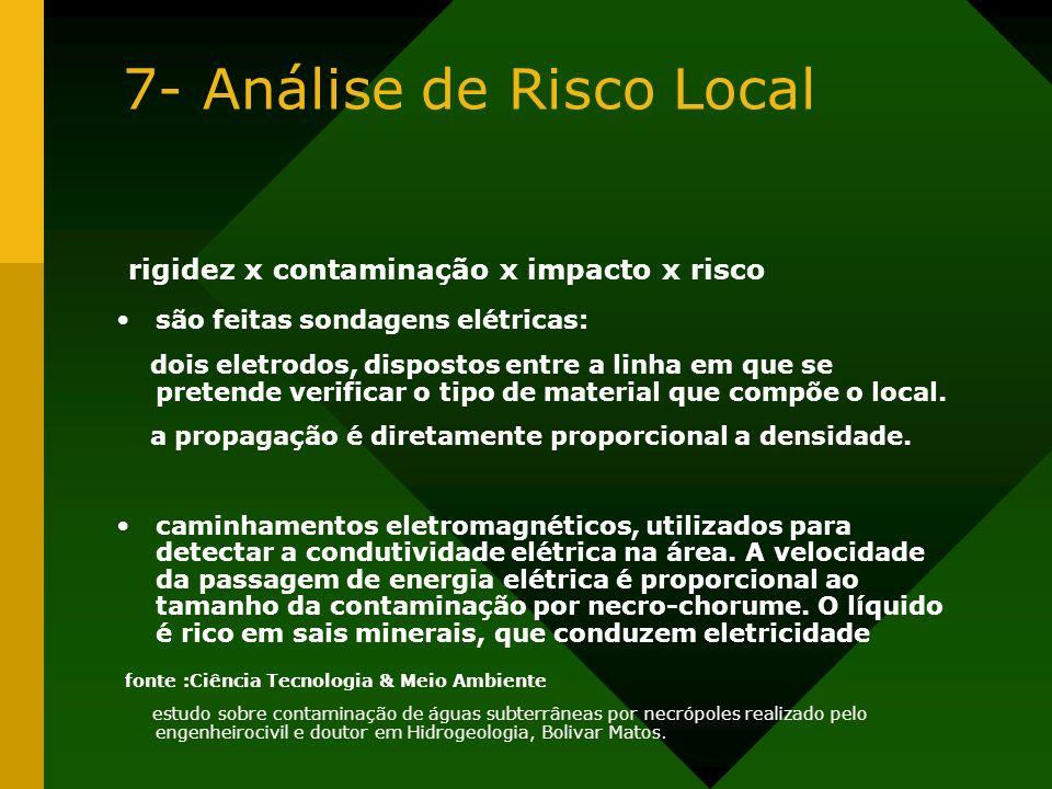7- Análise de Risco Local