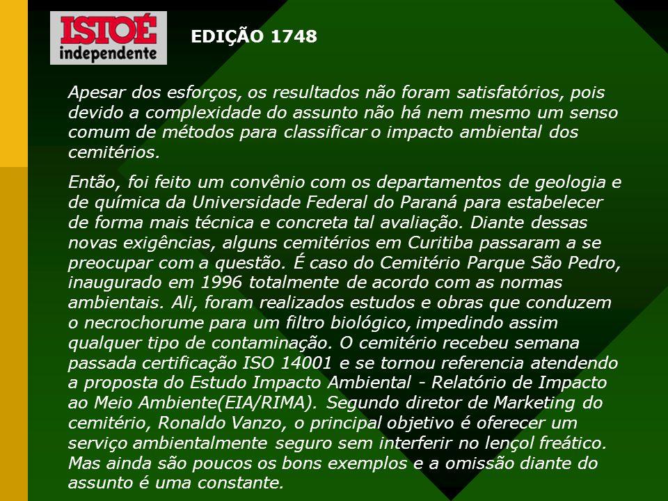 EDIÇÃO 1748