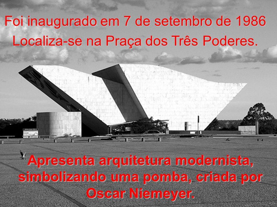 Foi inaugurado em 7 de setembro de 1986