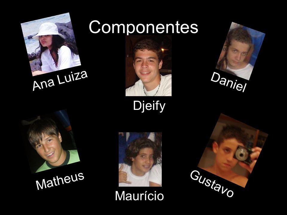 Componentes Ana Luiza Daniel Djeify Matheus Gustavo Maurício