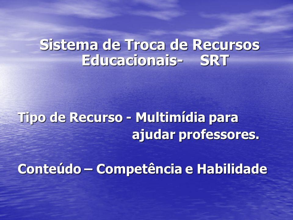 Sistema de Troca de Recursos Educacionais- SRT