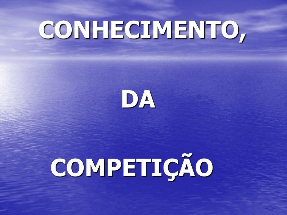 CONHECIMENTO, DA COMPETIÇÃO