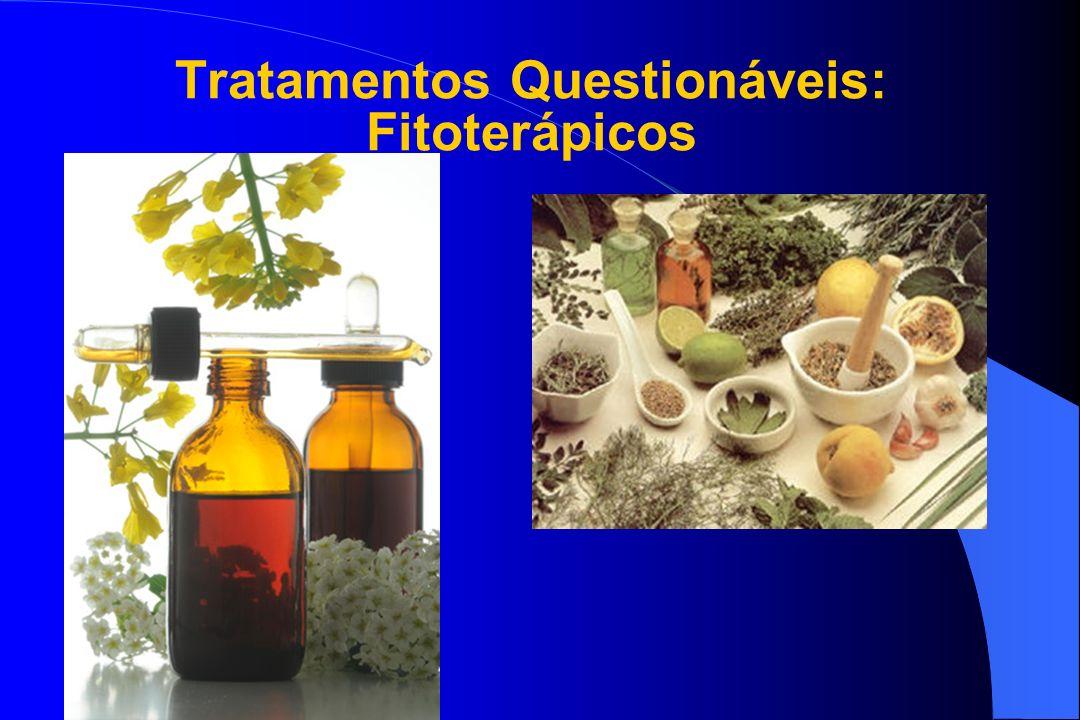 Tratamentos Questionáveis: Fitoterápicos