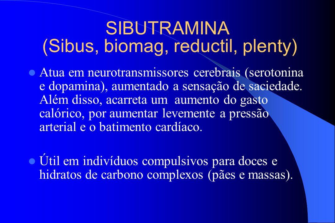 SIBUTRAMINA (Sibus, biomag, reductil, plenty)