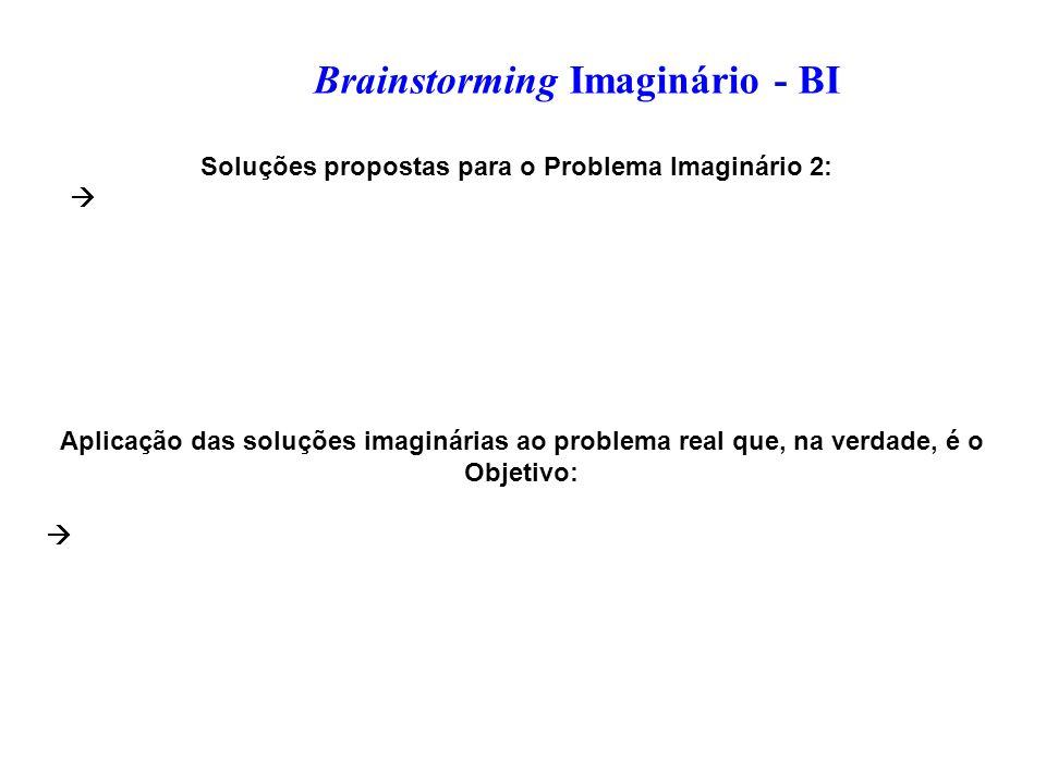 Soluções propostas para o Problema Imaginário 2: