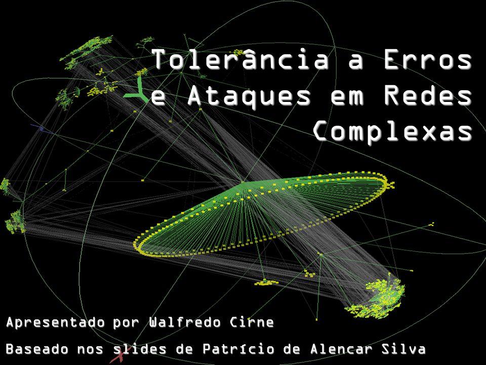 Tolerância a Erros e Ataques em Redes Complexas