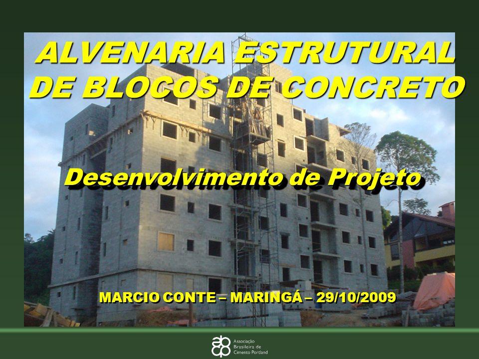 ALVENARIA ESTRUTURAL DE BLOCOS DE CONCRETO