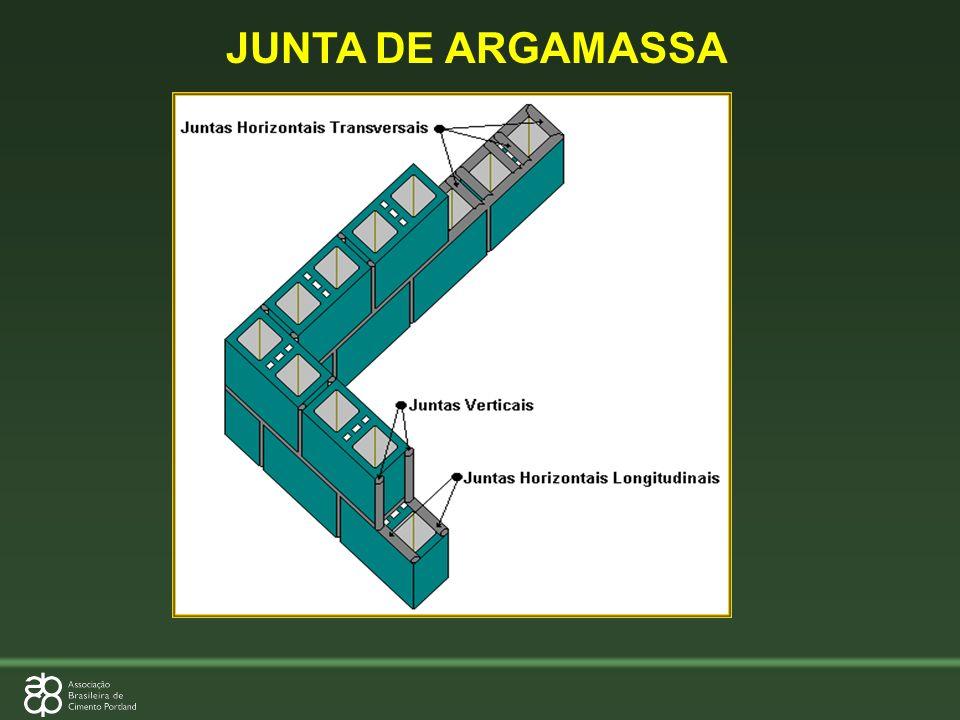 JUNTA DE ARGAMASSA