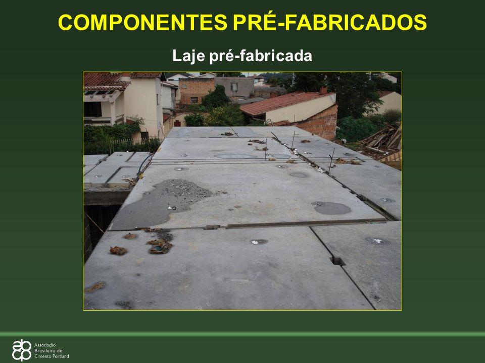 COMPONENTES PRÉ-FABRICADOS