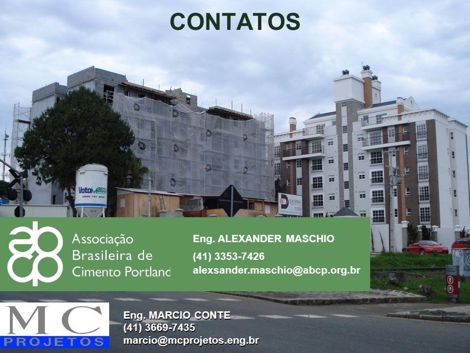 CONTATOS Eng. ALEXANDER MASCHIO