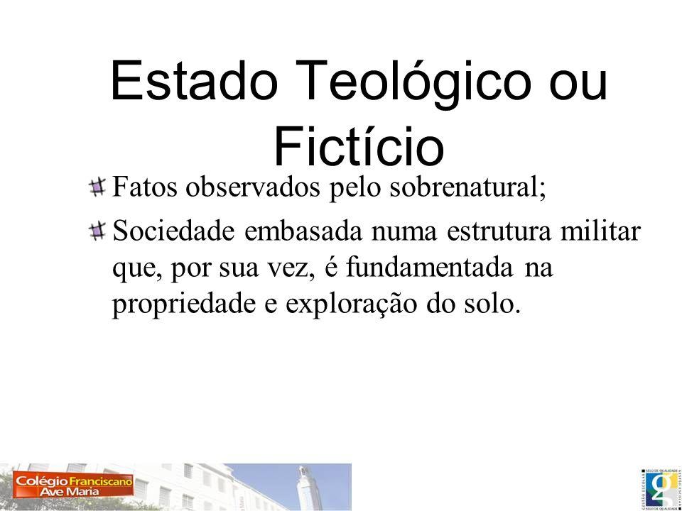 Estado Teológico ou Fictício