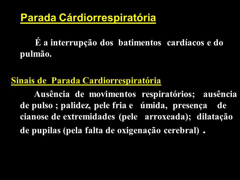 Parada Cárdiorrespiratória
