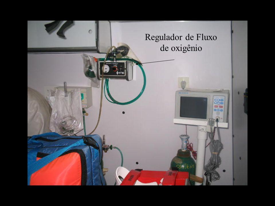 Regulador de Fluxo de oxigênio
