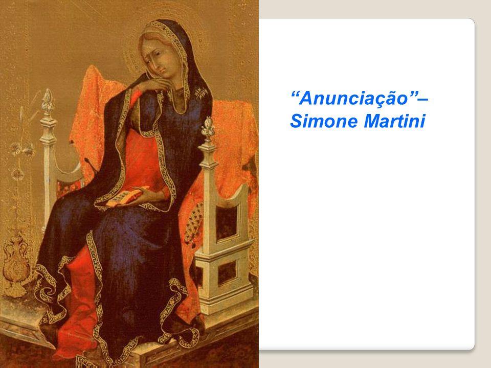 Anunciação – Simone Martini