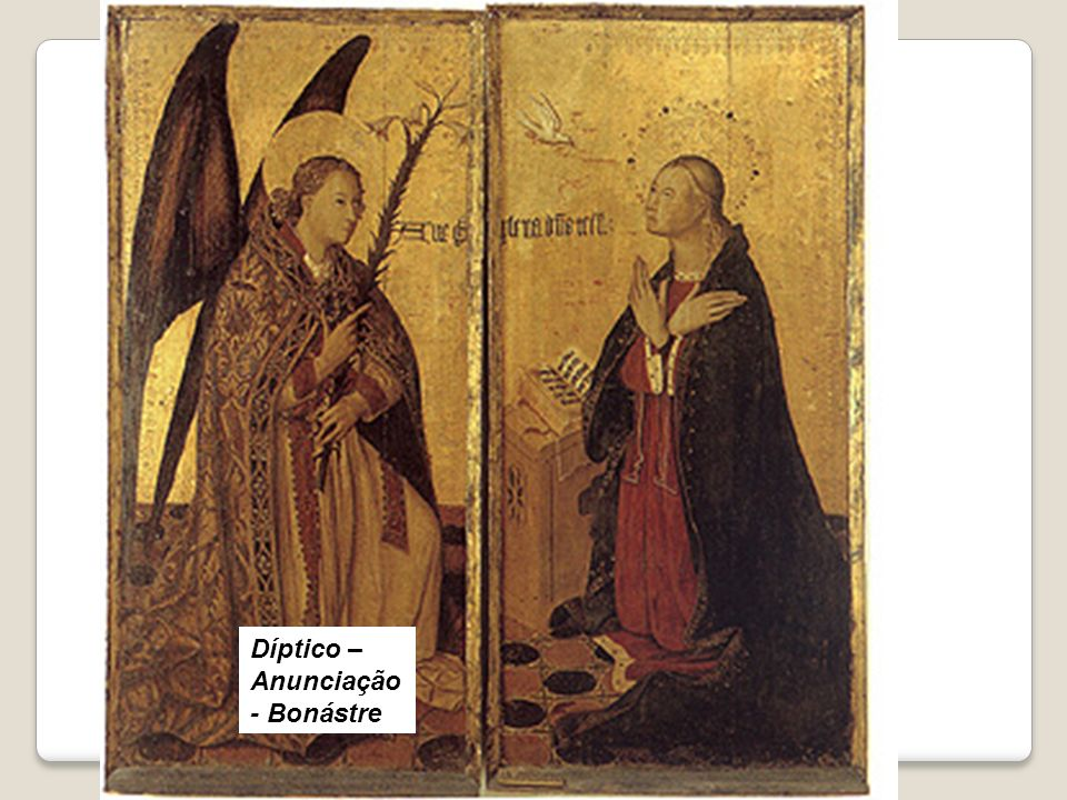 Díptico – Anunciação - Bonástre