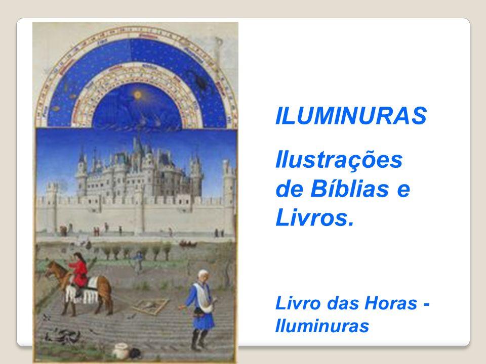 Ilustrações de Bíblias e Livros.