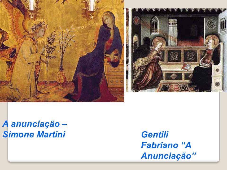 A anunciação – Simone Martini