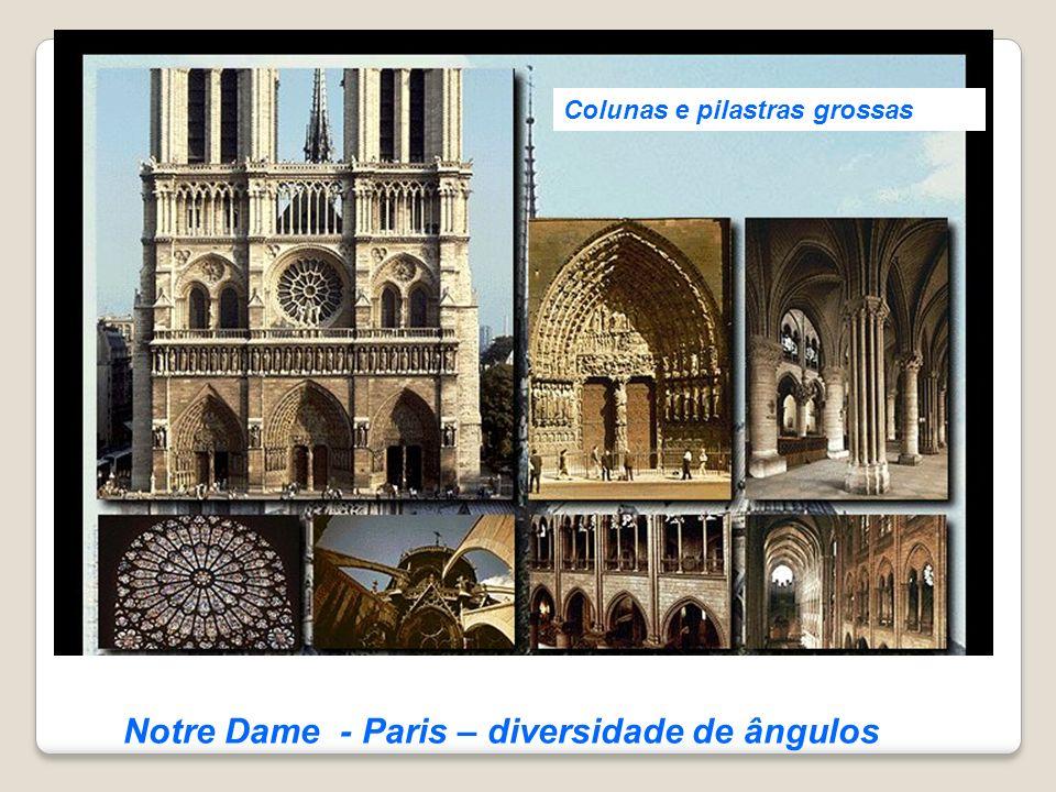 Notre Dame - Paris – diversidade de ângulos