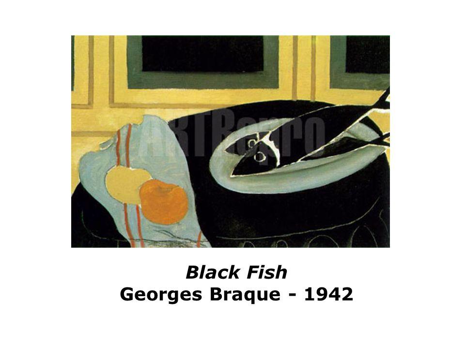 Black Fish Georges Braque - 1942