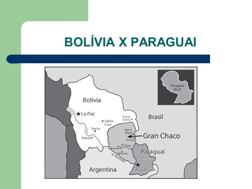 BOLÍVIA X PARAGUAI