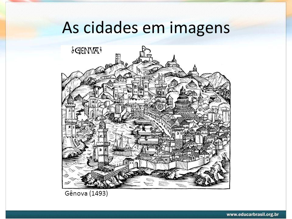 As cidades em imagens Gênova (1493)