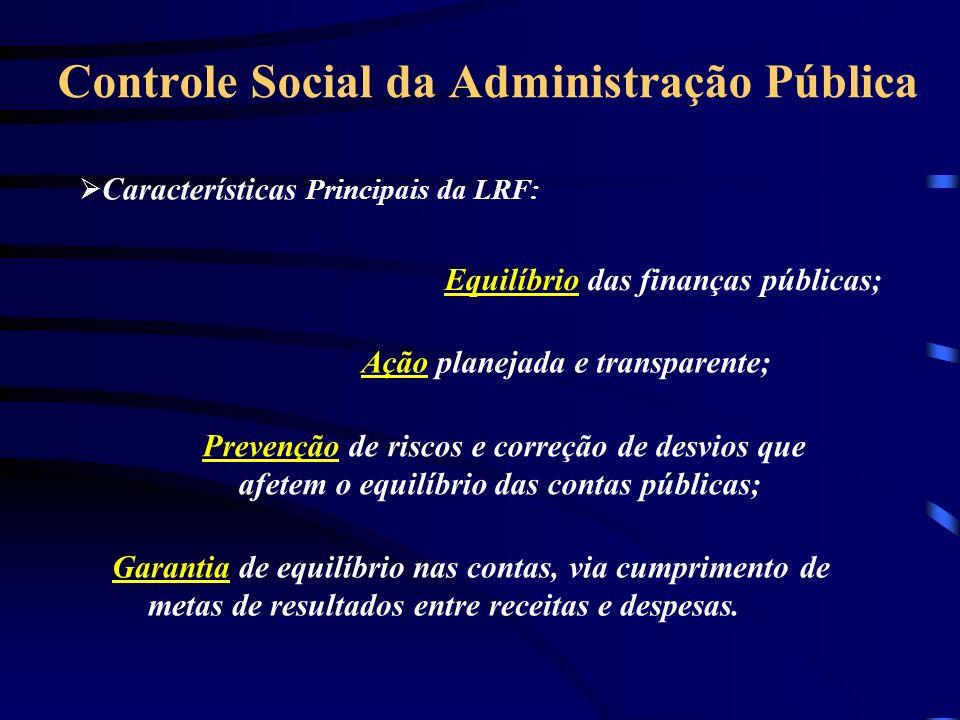 Controle Social da Administração Pública