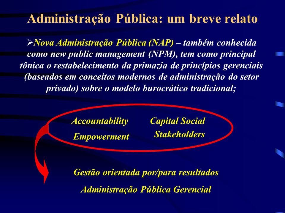 Administração Pública: um breve relato
