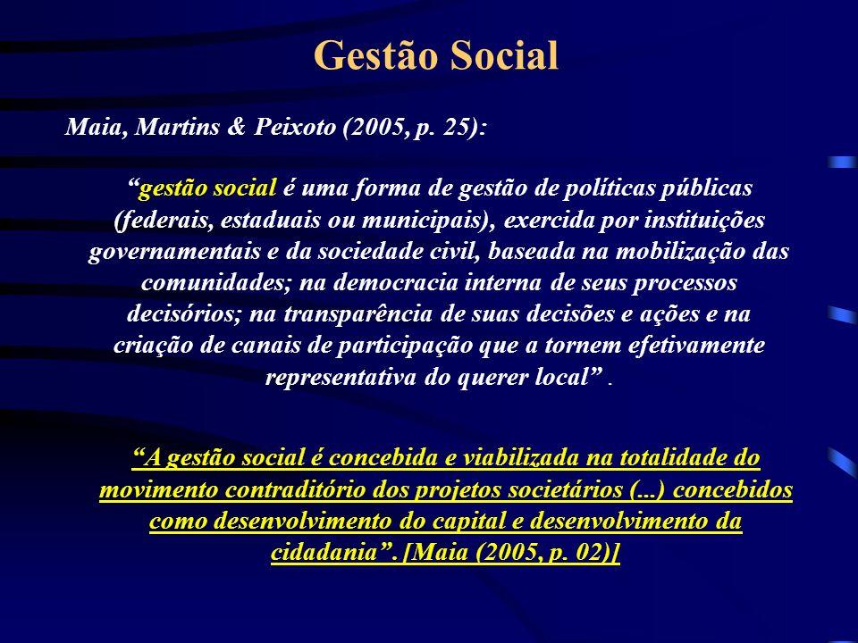 Maia, Martins & Peixoto (2005, p. 25):