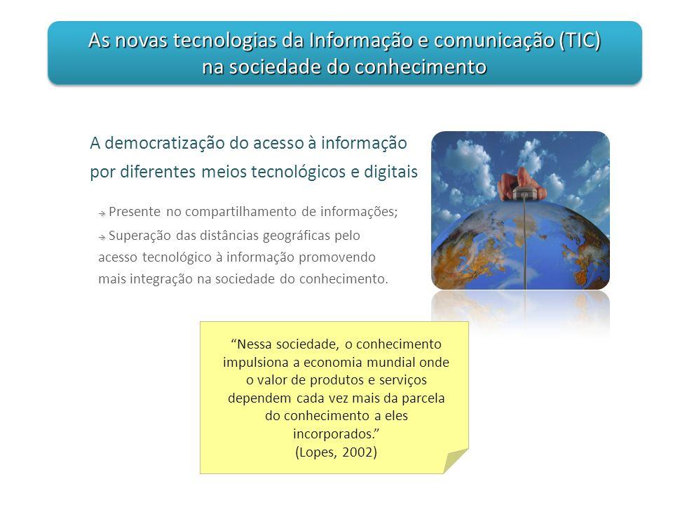A democratização do acesso à informação