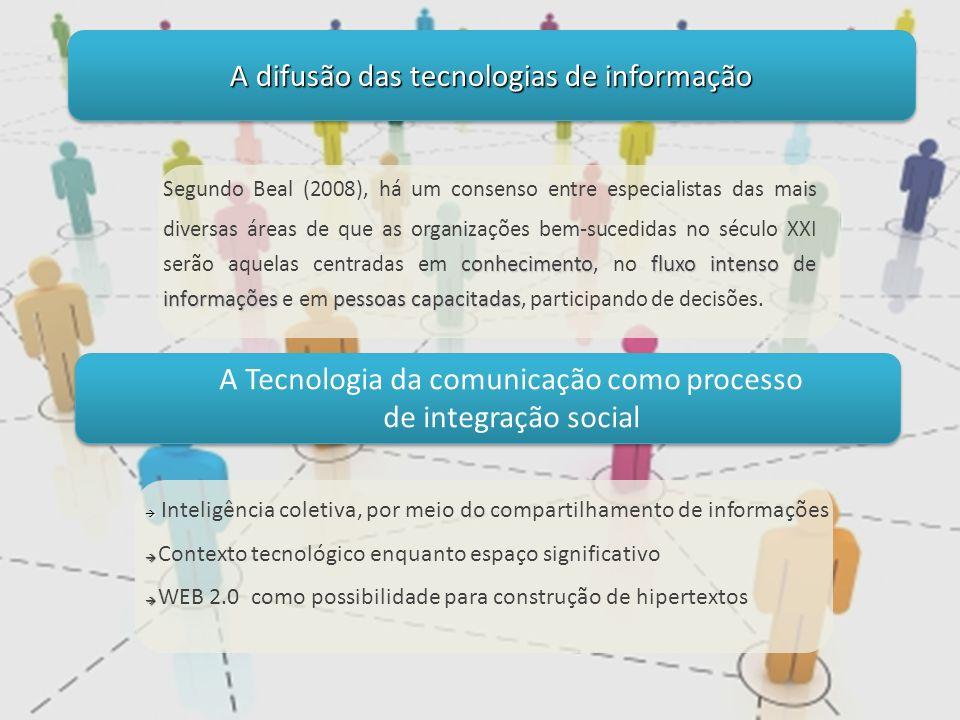 A difusão das tecnologias de informação
