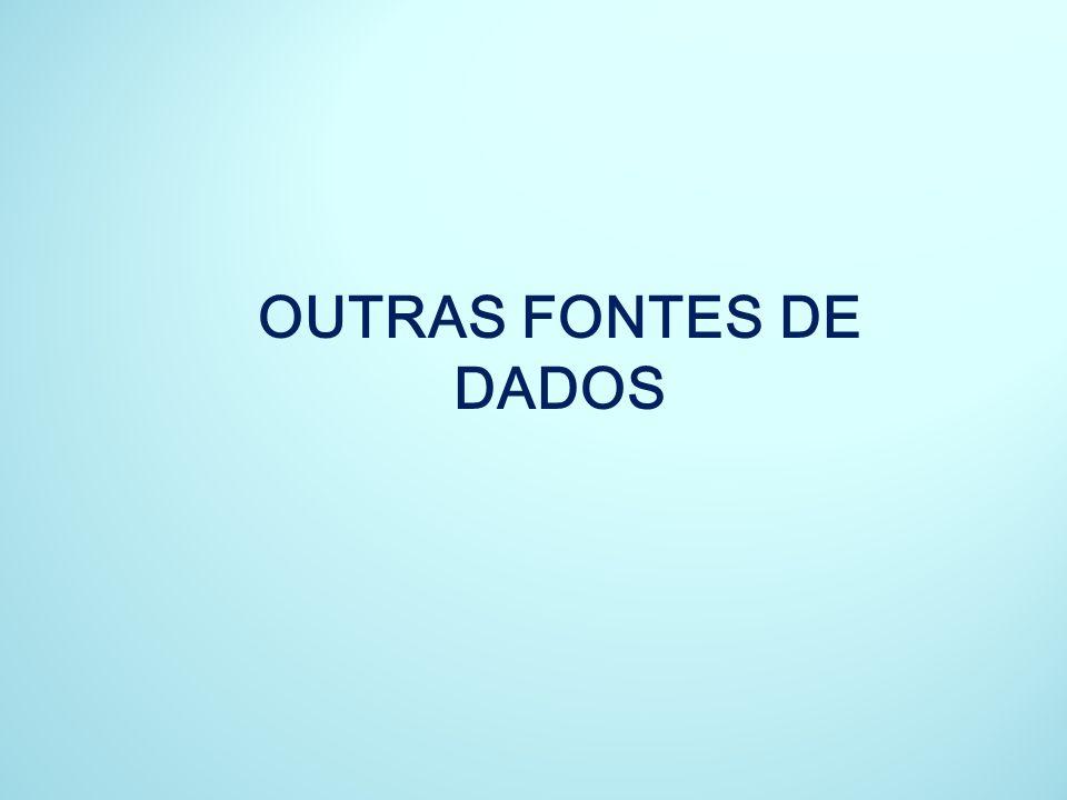 OUTRAS FONTES DE DADOS