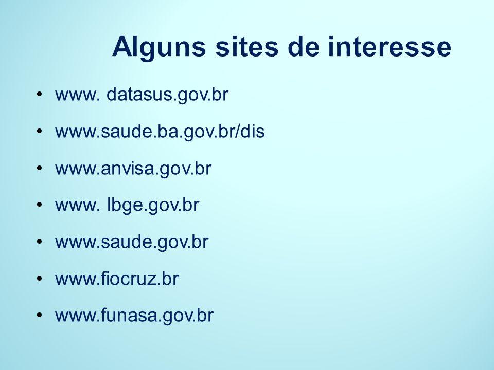 Alguns sites de interesse
