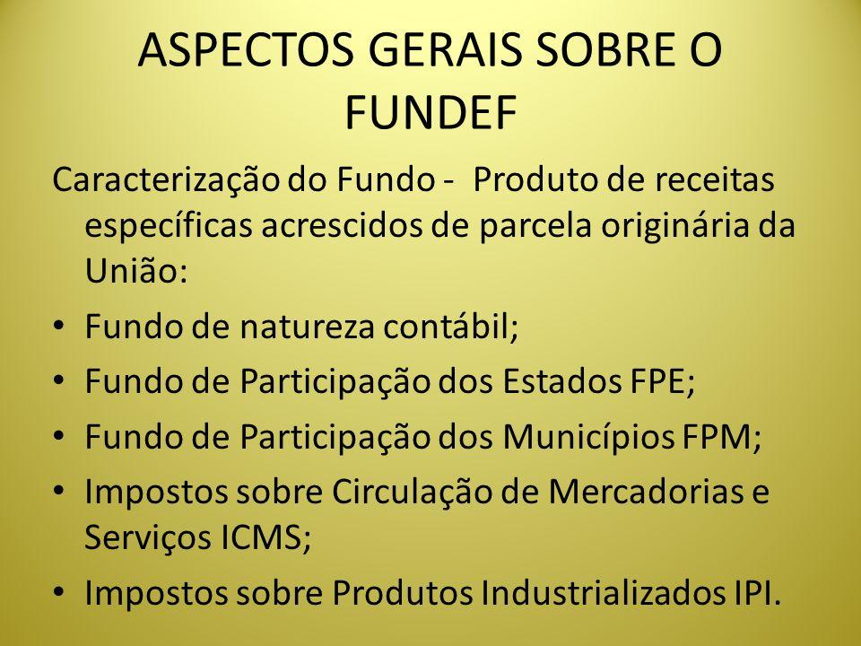 ASPECTOS GERAIS SOBRE O FUNDEF
