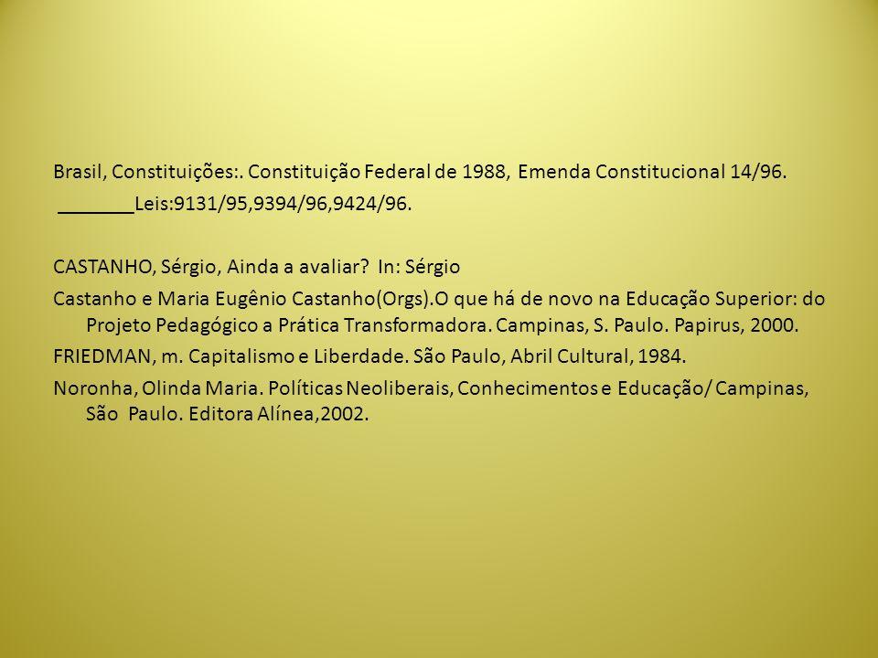 Brasil, Constituições:
