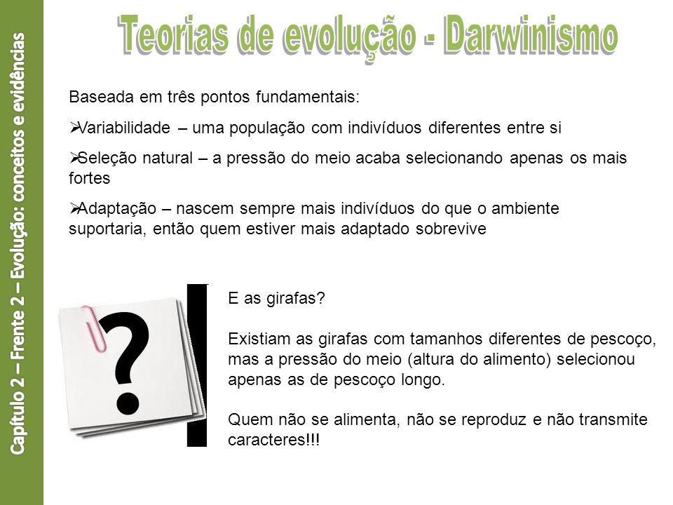Teorias de evolução - Darwinismo