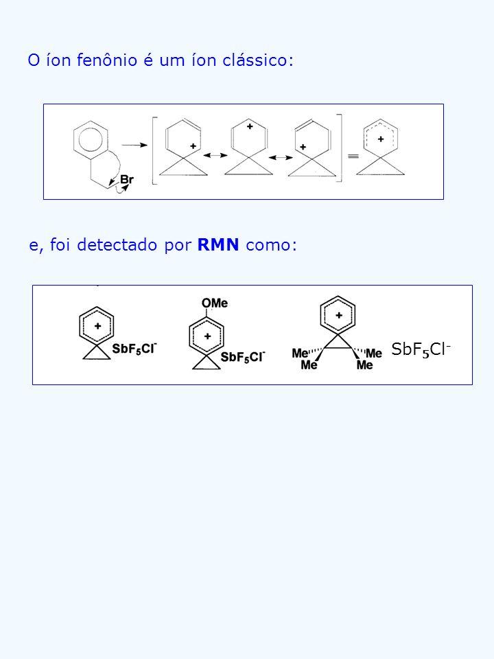O íon fenônio é um íon clássico:
