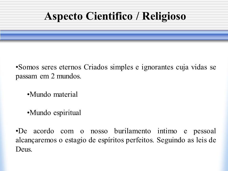 Aspecto Cientifico / Religioso