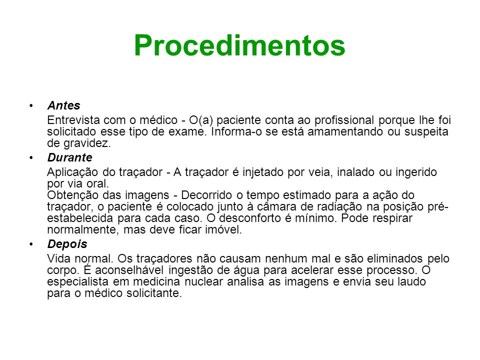 ProcedimentosAntes.