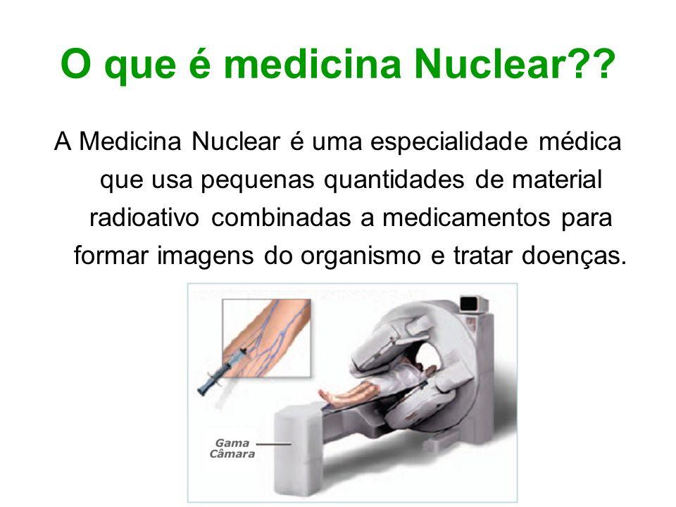 O que é medicina Nuclear