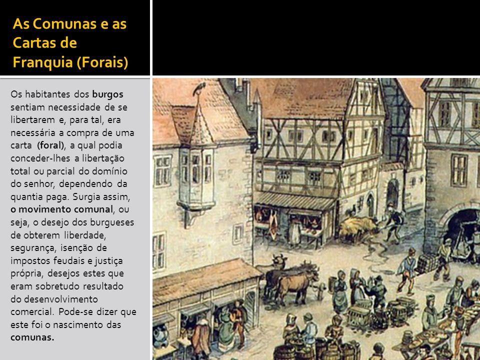 As Comunas e as Cartas de Franquia (Forais)